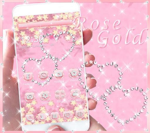 Theme Rose Gold Diamond for PC