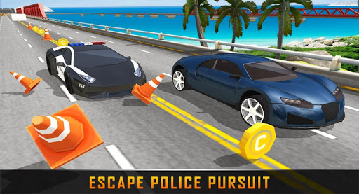 Fast Police Car Racing screenshot 2