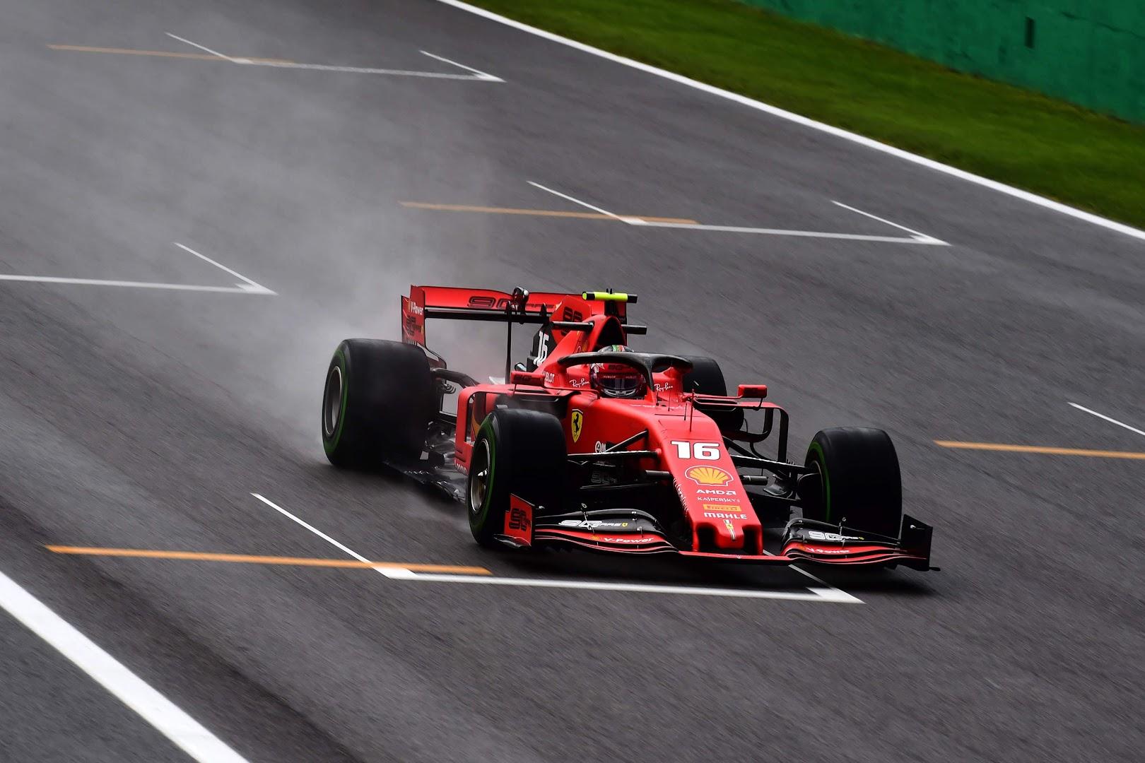 F1イタリアGPフェラーリ