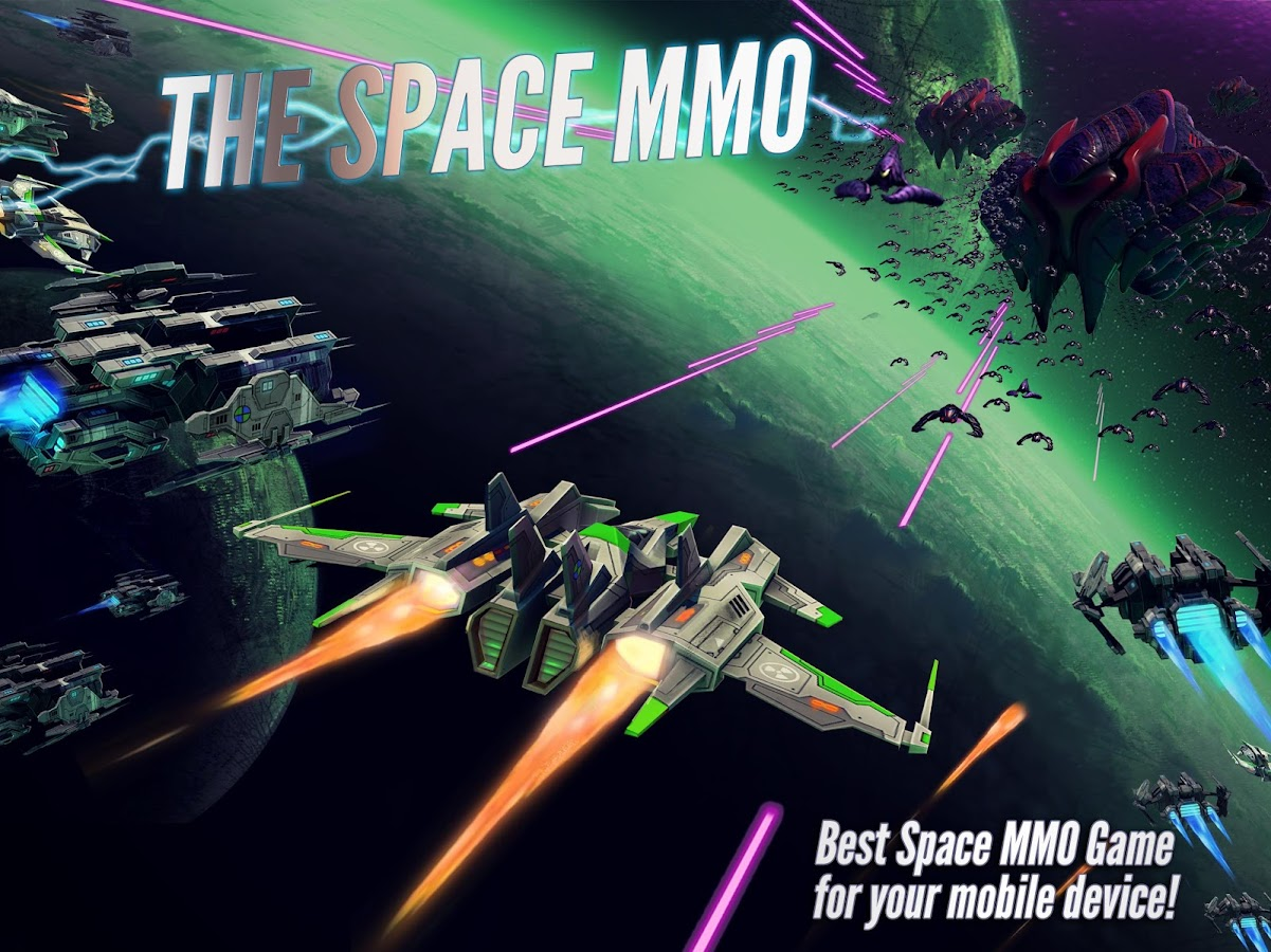 Spaceship mmo for android