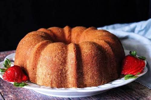 "Old School Butter Pound Cake""This cake will get you raves wherever you..."
