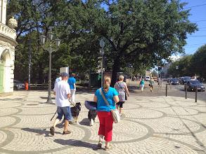 Photo: Juuri saavuimme ratikalla Riikan vanhan kaupungin laitamille.