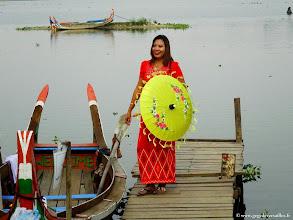 Photo: #013-Amarâpura, Taungthaman Lake.