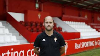 El técnico del filial toma el mando del Sporting.