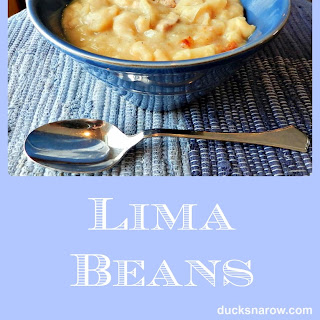 Lima Beans and Pork