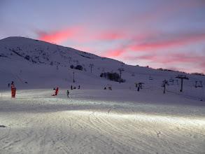 Photo: La station du Corbier en hiver