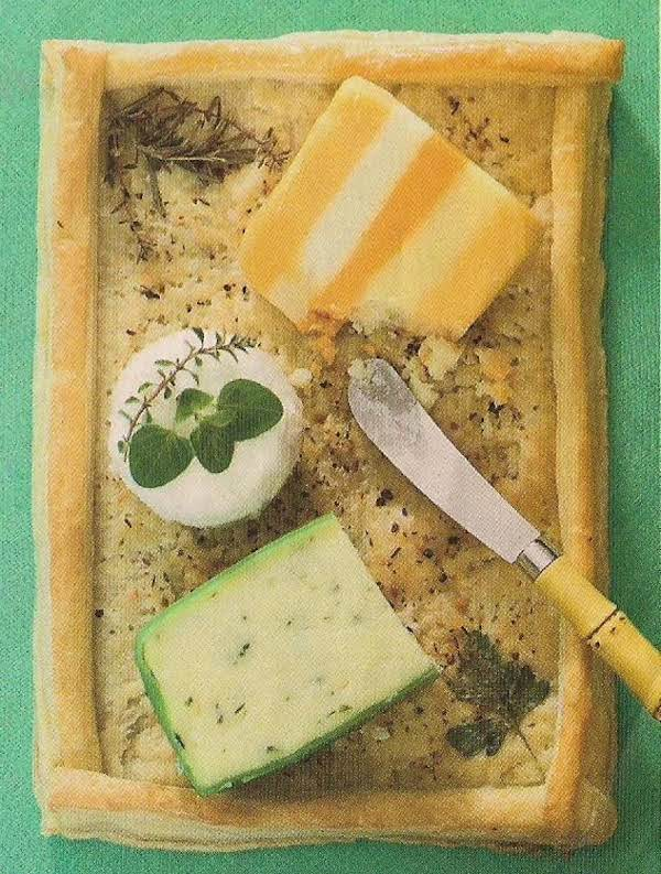 Puff Pastry Cheese Tray