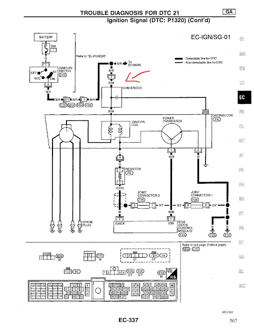 2000 Nissan Sentra Ignition Coil Wiring Diagram. . Wiring Diagram on