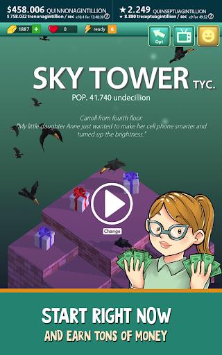 Sky Tower Tycoon u2013 Your Idle Adventure 2.3.0 screenshots 15