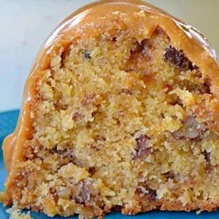 BROWN SUGAR CARAMEL POUND CAKE.