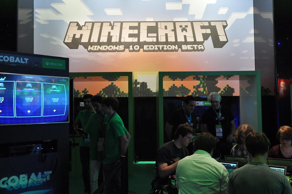 Minecraft Windows 10 Edition Beta version launch in Minecon 2015, London