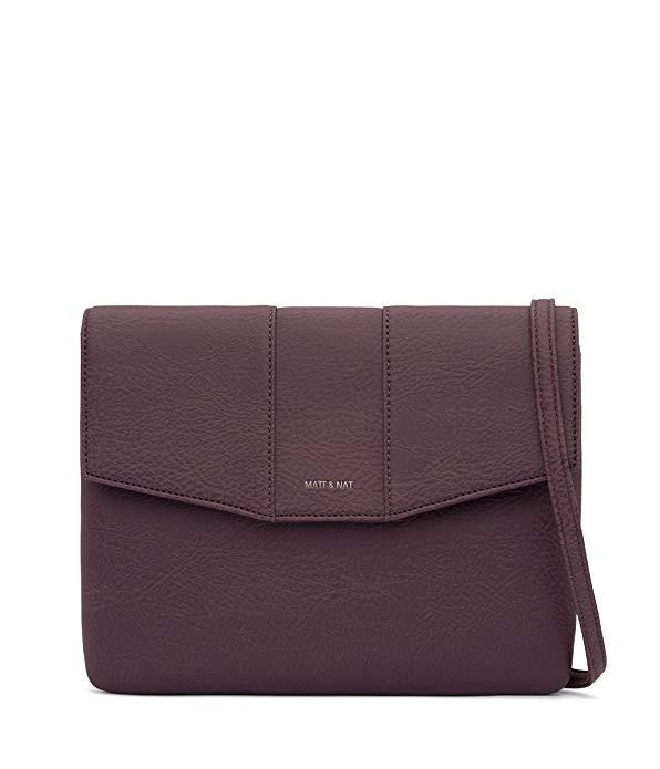 Matt & Nat Eeha Handbag, Dwell Collection, Fig (Purple)