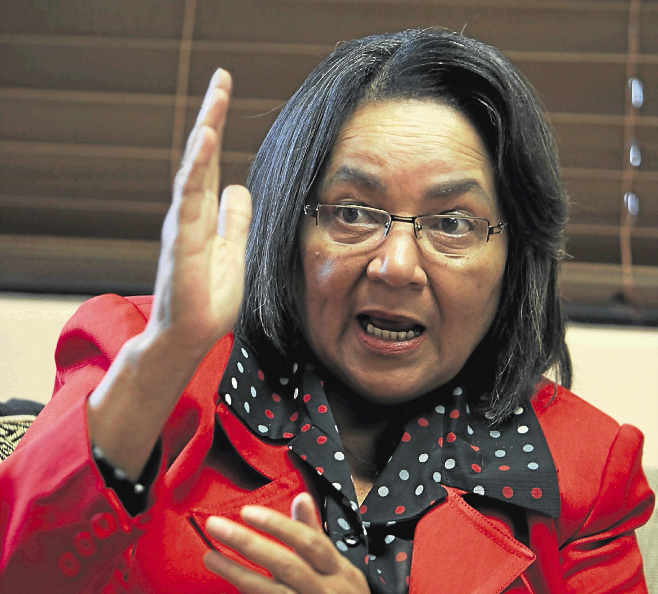 De Lille warns of e-mail scam fraudulently using her name - TimesLIVE