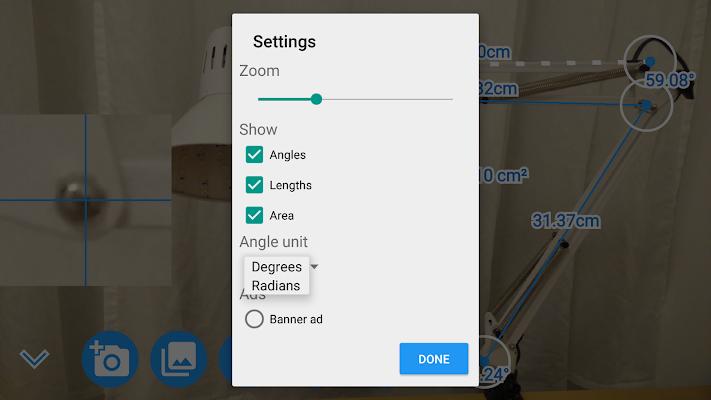Camera Protractor - screenshot