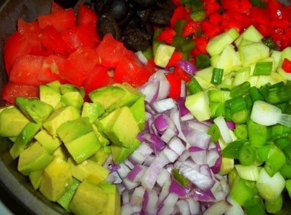 Cut up your vegetables.