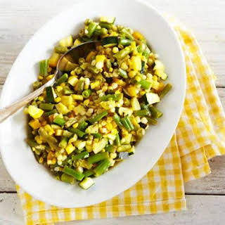 Summer Corn Succotash.