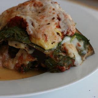 Vegetarian No Noodle Lasagna CrockPot.