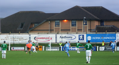 Photo: 10/12/11 v The New Saints (Welsh Premier League) 1-1 - contributed by Mike Latham
