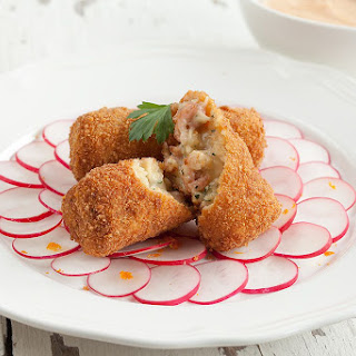 Dutch Shrimp Croquettes.