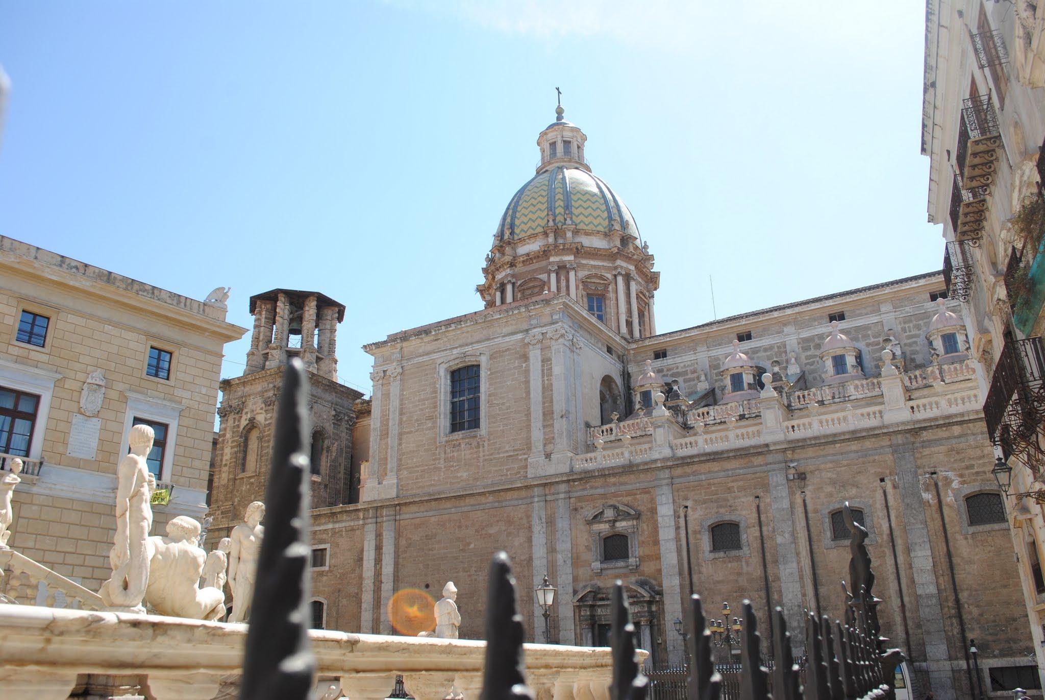 My Photos: Italy -- Sicily -- Palermo -- Churches -- Chiesa dei San Giuseppe Teatini