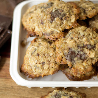 Coconut And Dark Chocolate Breakfast Cookies