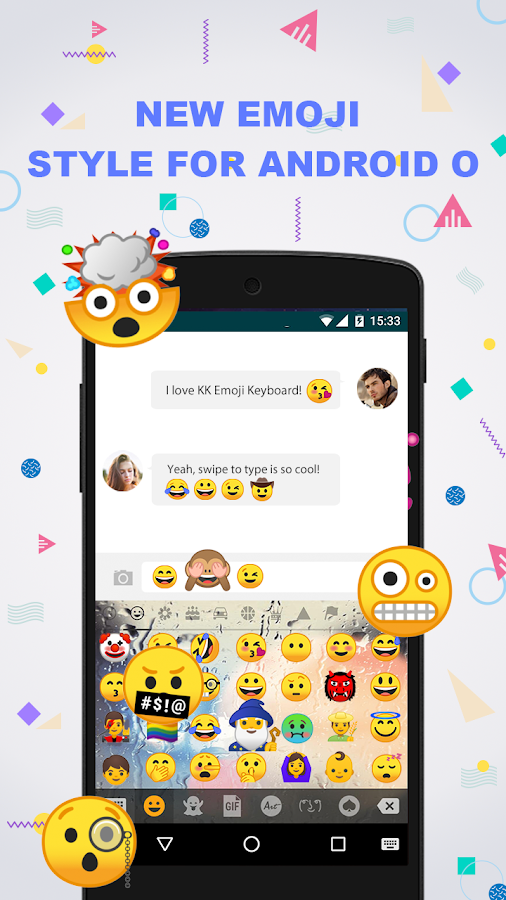 new android google new emoji for android 8 android apps on play 22489