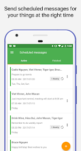 Magic SMS - Smart Auto Reply and Scheduled SMS - náhled