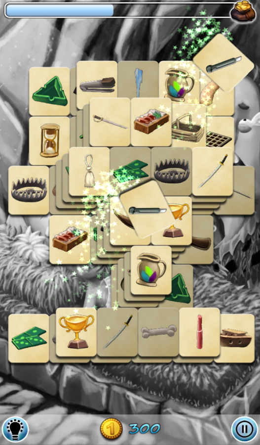 Hidden Mahjong: Puss In Boots- screenshot
