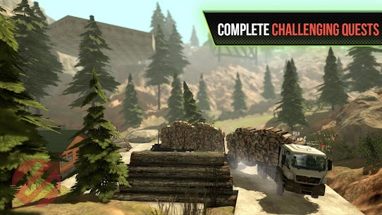 Truck Simulator OffRoad 4 MOD (Unlock All Levels) 4