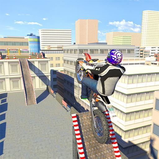 Bike Racing On Roof