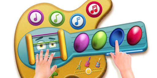Toy Guitar with songs for kids 1.0.3 screenshots 5