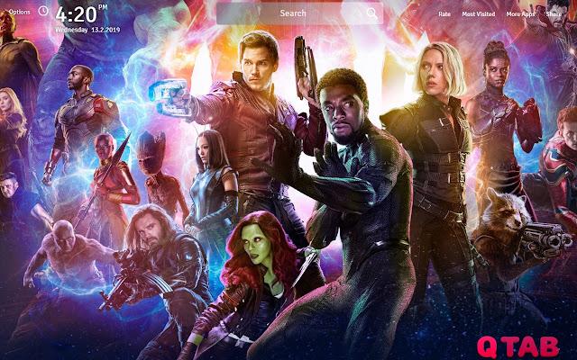Avengers endgame wallpapers theme new tab chrome web store - Chrome web store wallpaper ...