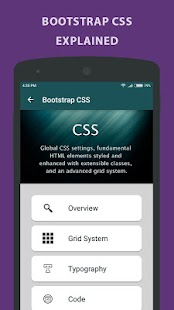 Learning Bootstrap - Tutorial- screenshot thumbnail