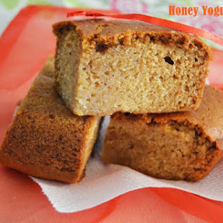 Honey Yogurt Cake - My 13th guest post for Shaain's Cooknotes.