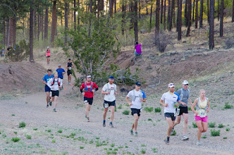 Photo: Near the underpass; Jemez Mountains Trail Run