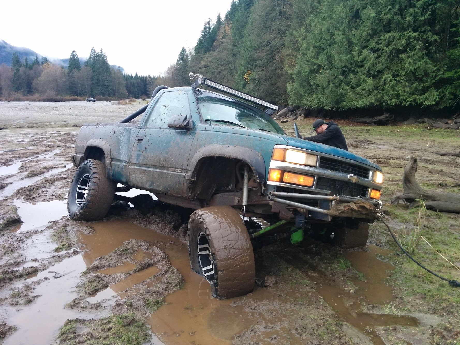 97 K1500 4 3 to 6 0L swap - Pirate4x4 Com : 4x4 and Off-Road