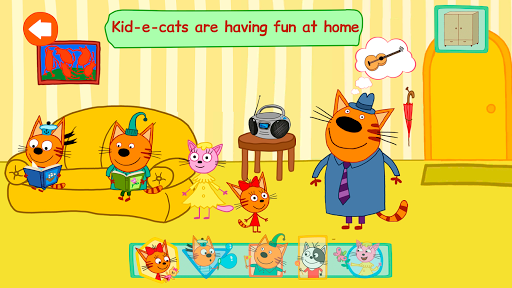 Kid-e-cats: Fun Adventures  captures d'écran 2
