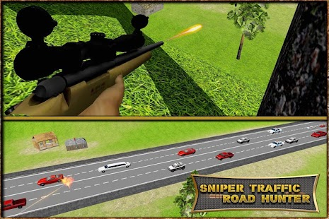Sniper Traffic Road Hunter 3D - náhled