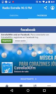 Radio Estrella 90.5 FM screenshot 1