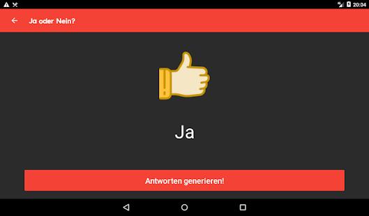 Randomizer+ Zufallsgenerator - der Entscheider Screenshot