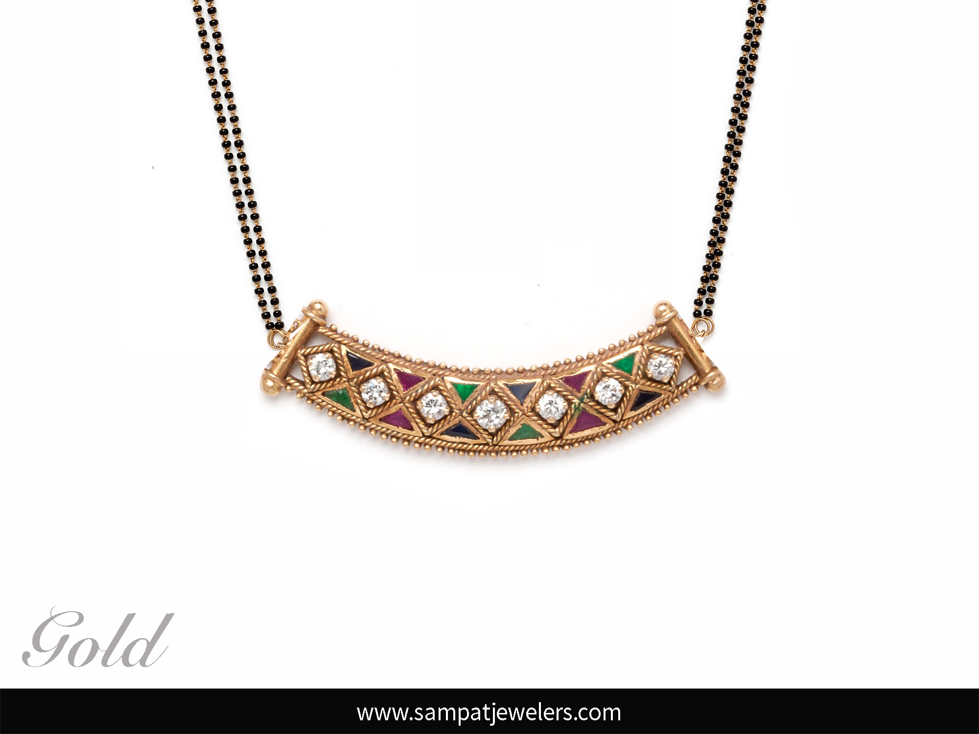 Mangalsutra Designs You Will Adore (2017) by Sampat Jewellers Inc.