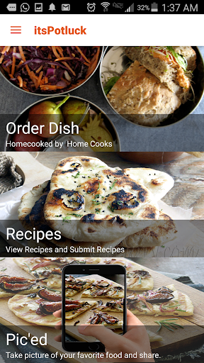 itsPotluck - Recipes Dish