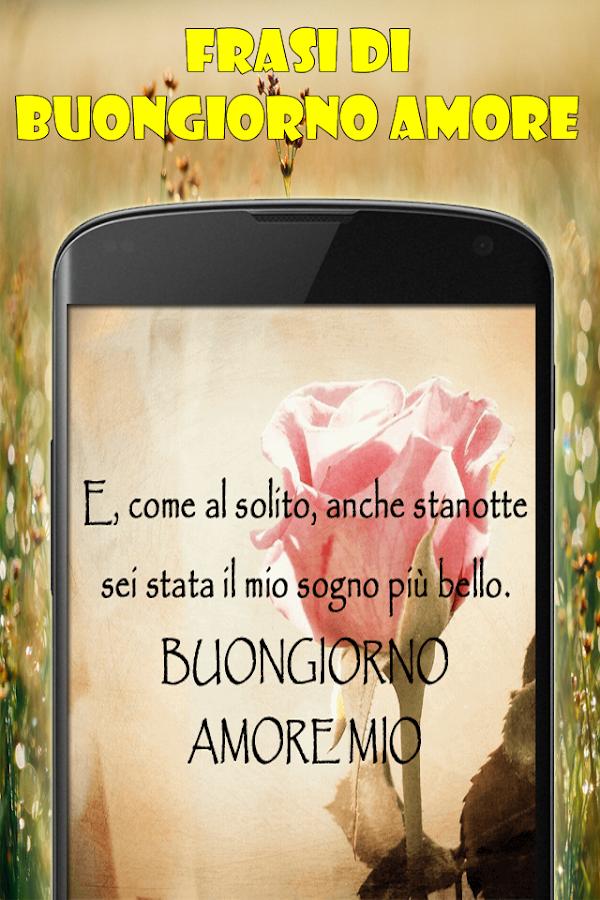 Famoso Frasi di Buongiorno Amore con Immagini - Android Apps on Google Play UU89