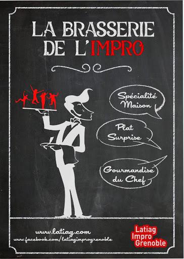 La brasserie de l'Impro - Les jeudis de L'Arche à Grenoble