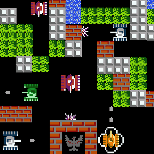 Battle City - Tank 1990 HD 動作 App LOGO-硬是要APP