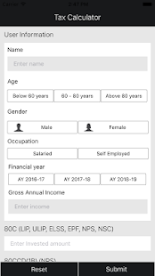Income Tax Calculator India - náhled