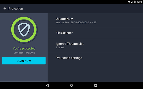 AntiVirus PRO Android Security- screenshot thumbnail