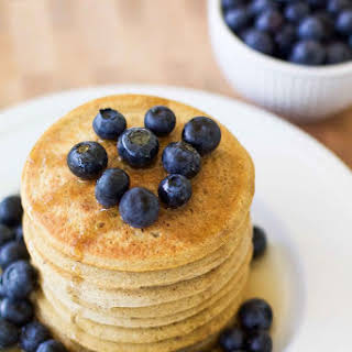 Perfect Pancakes · made with Among Friend's Baking Mix.