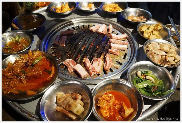 Bungy Jump笨豬跳韓式燒肉。台中|西屯區 韓國烤肉