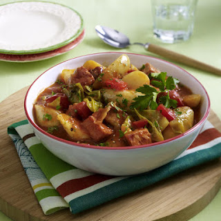 Spicy Pork and Potato Stew.